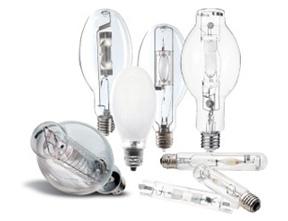 Metal halides and similar type light bulbs